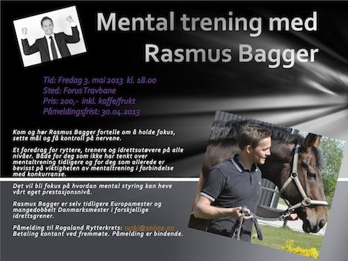 Mental trening med Rasmus Bagger